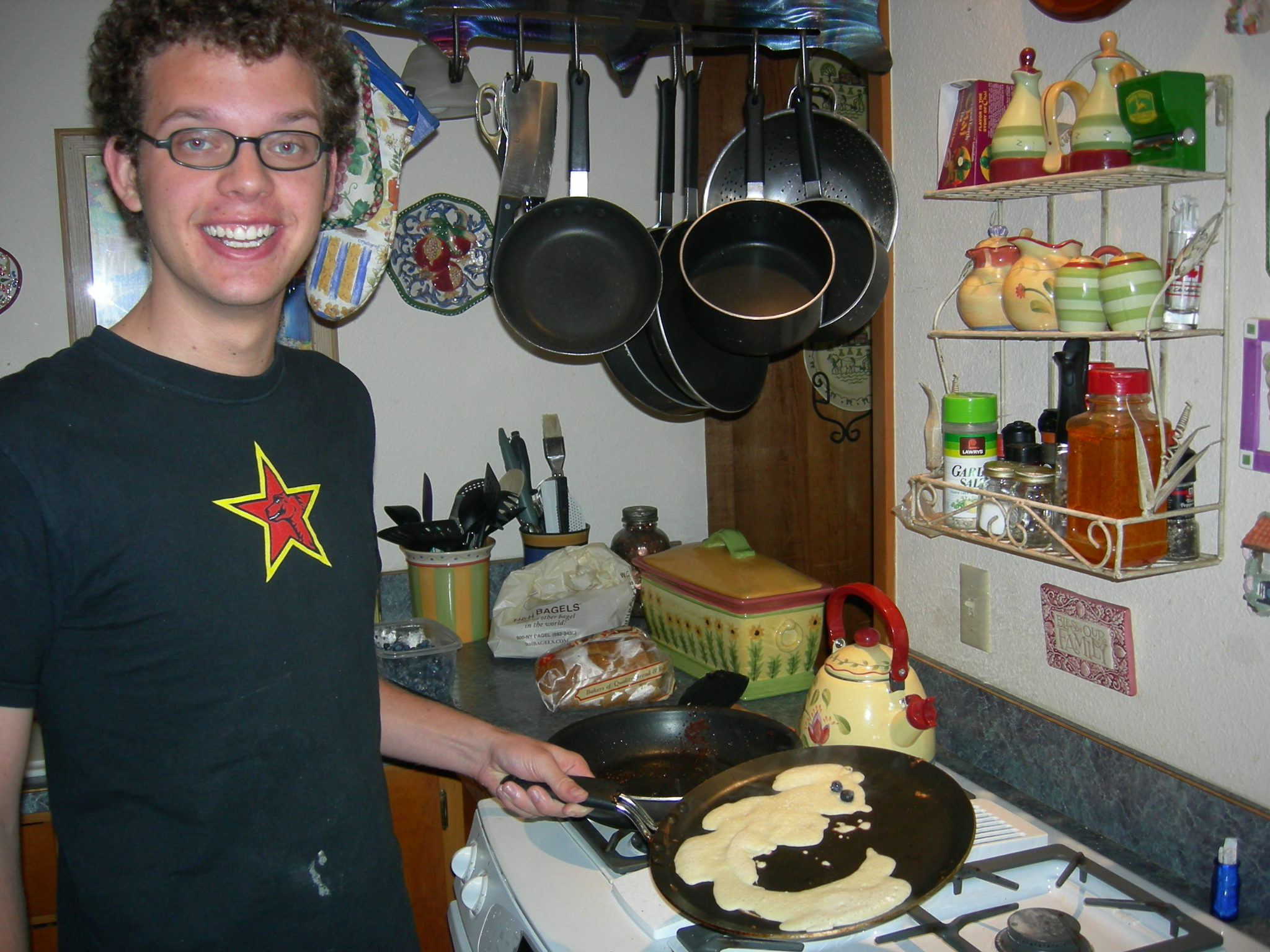 Firefox pancakes - the breakfast of champions